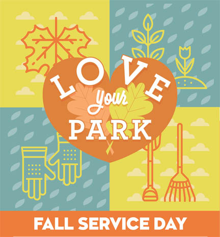 Love your park Fall 2017 call for volunteers