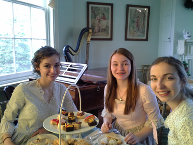 Spring tea fundraiser at Laurel Hill Mansion