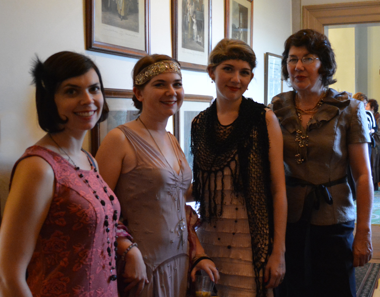 All dresses for the Downton Abbey Costume party at Laurel Hill Mansion
