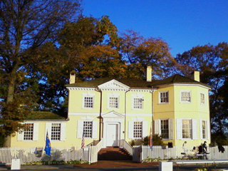 Laurel Hill Mansion in the Fall