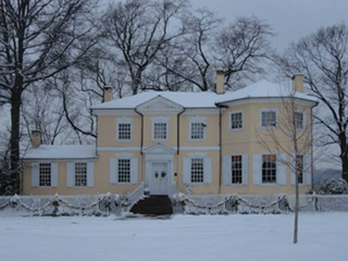 Laurel Hill Mansion in the Winter
